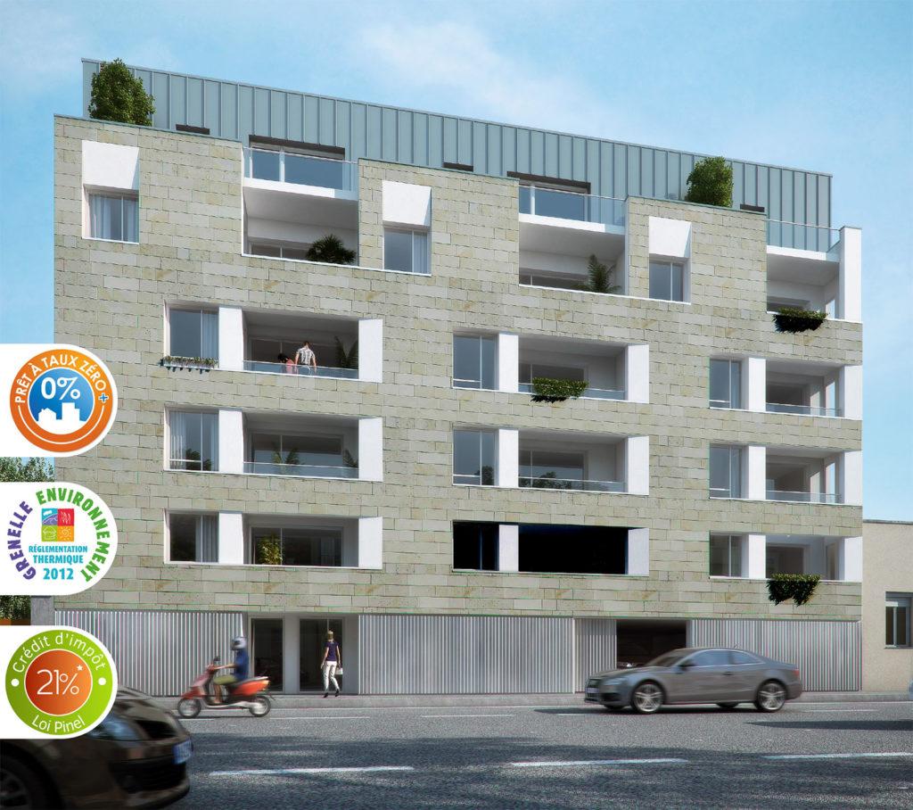 My Home : 20 appartements neufs rue Salengro à Reims
